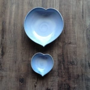 Heart Dishes Rosemarie Durr