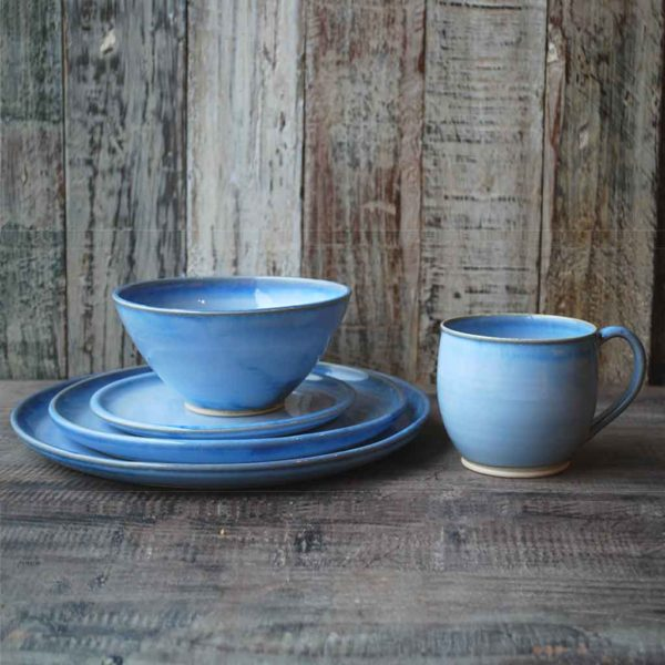 Cereal Bowl Place Setting side byside Rosemarie Durr