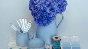 Rosemarie Durr Blue Range Jugs