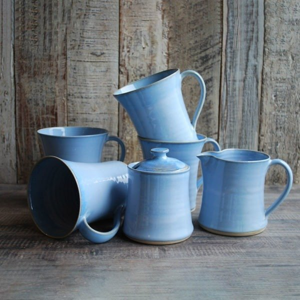 Tea for Four with Mugs Rosmarie Durr