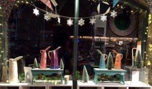 Rosemarie Durr Pottery Festive Windows