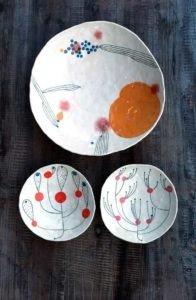 Andrew Ludick three bowls