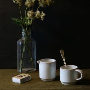Espresso cup and Stacking Jug Rosmarie Durr