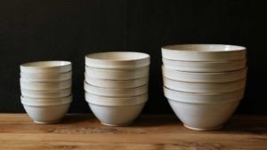 Range of Stacking Bowls by Rosemarie Durr
