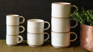 Stacking Cups by Rosemarie Durr