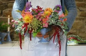 Flower arrangement Rosemarie Durr