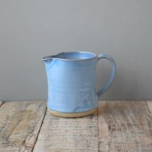 Blue Range Milk Jug Rosemaria Durr Pottery