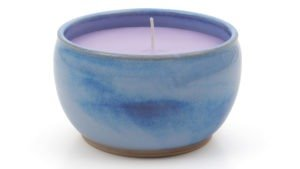 Made in Kilkenny   Rosemarie Durr   Blue Candle Bowl   High Res