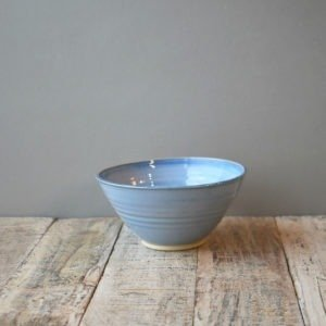 Soup Cereal Bowl Blue Range Rosemary Durr Pottery