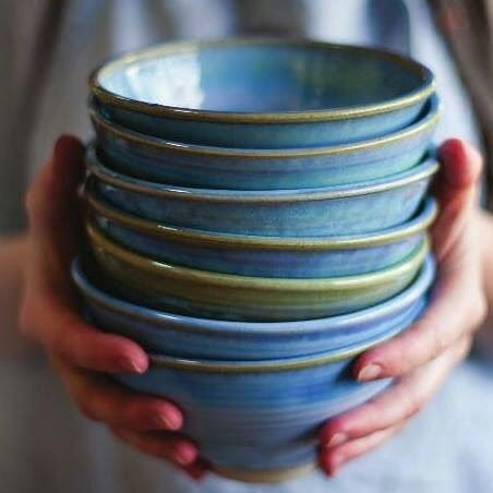 Stack of Bowls Rosemarie Durr Pottery