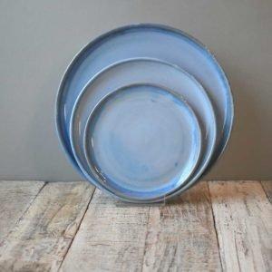 Blue Range Plates by Rosemarie Durr 1