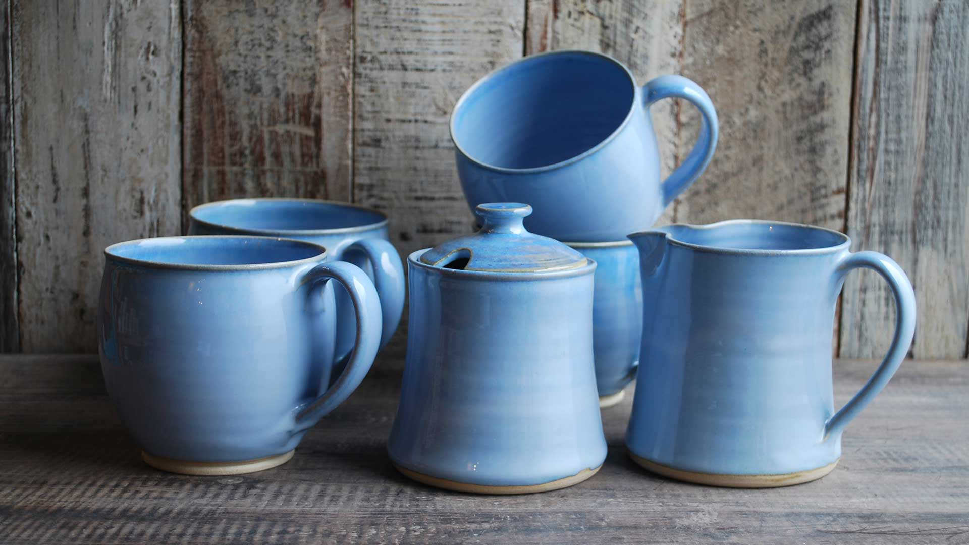 Tea For Four with Homely Cups