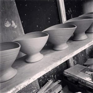 Asymetrical Pots by Rosemarie Durr