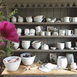 Dresser of Rosemarie Durr Pottery
