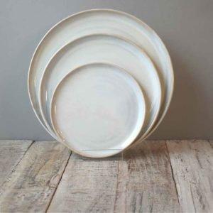 Plates Stacking Range Rosemarie Durr Pottery