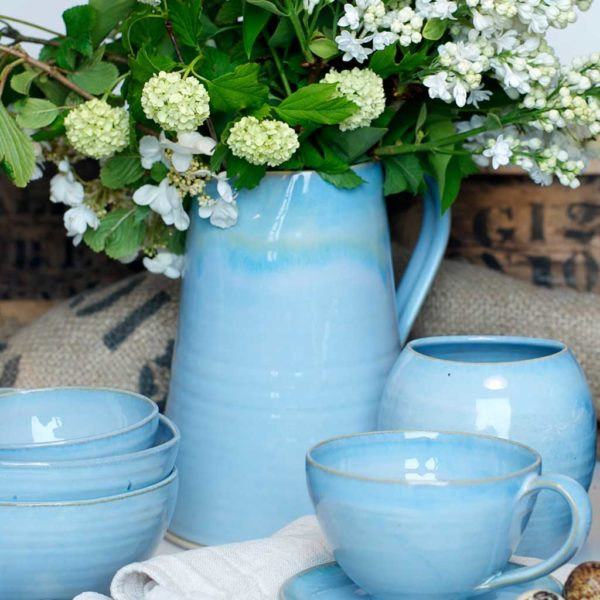 Rosemarie Durr Pottery Blue Range Jugs