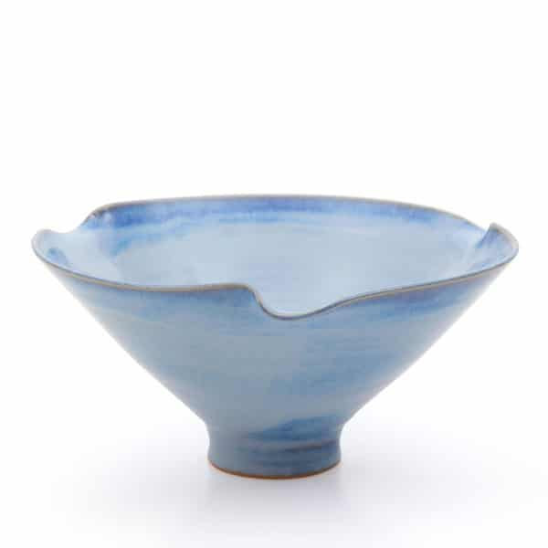 Scalopped Bowl Rosemarie Durr Pottery