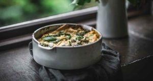 White Baking Bowl Rosemarie Durr by Eva Kosmas Flores 14
