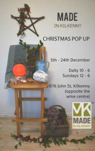 Made in Kilkenny Christmas 2019