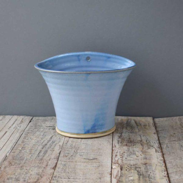 Wall Planter Flower Pot by Rosemarie Durr